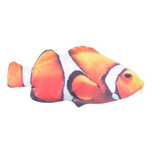 オルルド釣具 魚型 小物入れ ポーチ ペンケース おもしろグッズ クマノミ|worlddepartyafuu
