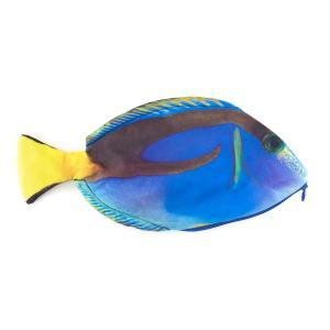 オルルド釣具 魚型 小物入れ ポーチ ペンケース おもしろグッズ ナンヨウハギ|worlddepartyafuu