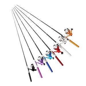 オルルド釣具 ペン型ロッド スピニングリールセット 「テトルドB2」 ポケット釣竿