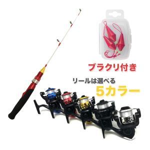 オルルド釣具 釣り具 ロッド 「探り釣りコンプリートセット」テトルドX&スピニングリール&ブラクリ 全5色 並継式|worlddepartyafuu