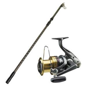 SHIMANO(シマノ) アクティブキャスト スピニングリール オルルド釣具 スーパーゴリルドII 振出式 4.25m セット|worlddepartyafuu