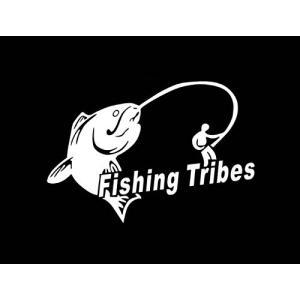 オルルド釣具 フィッシングステッカー Fishing Tri...