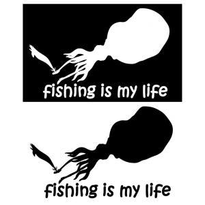【オルルド釣具】フィッシングステッカー 「 fishing ...