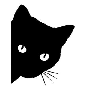SSC 「見つめる猫」ステッカー 車 ポイント消化|worlddepartyafuu