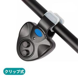 オルルド釣具 釣り用アラーム フィッシングヒットセンサー クリップ式
