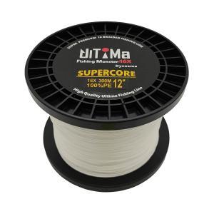 UlTiMa(アルテマ) 釣り具 PEライン 16本編み FishingMonster SuperCore フィッシングモンスタースーパーコア 16X 300m ホワイト|worlddepartyafuu
