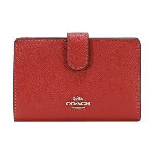 COACH コーチ 財布 二つ折り財布 F11484 SVN4N ウォッシュドレッド ウォレット アウトレット レディース 新品|worlddrive