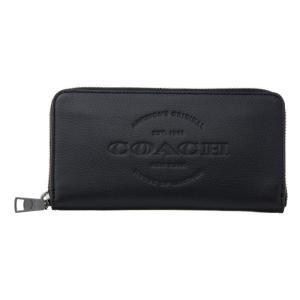 コーチ 財布 COACH 長財布 レザー メンズ ブラック アウトレット 24648 BLK コーチギフトボックス付き|worlddrive