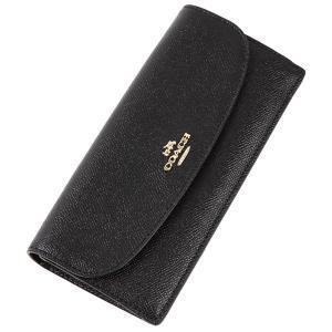 COACH 財布 アウトレット レディース コーチ F54008 クロスグレインレザー ソフトウォレット 長財布 worlddrive