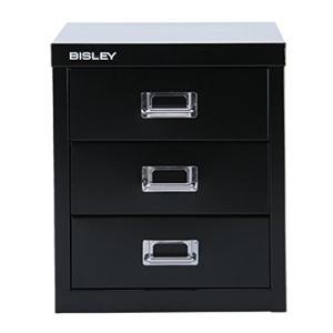 BISLEY [ ビスレー ] マルチ収納ケース/キャビネット Basic 12 ベーシック 12 【3段】 3段 ブラック H123|worldfigure
