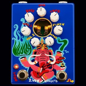 【商品名】Z.Vex Woolly mammoth 7 ジーベックス ウーリー マンモス ギター ベ...