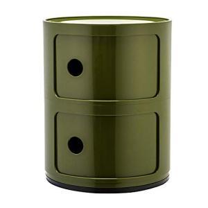 [ カルテル ] Kartell チェスト コンポニビリ 2段 正規品 4966 Componibili グリーン Green 収納ケース worldfigure