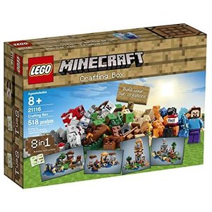 LEGO Minecraft 21116 Crafting Box|worldfigure
