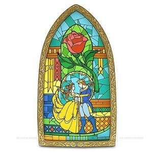 【商品名】【WDW限定】 ディズニー 美女と野獣 ステンドグラス レプリカ Beauty and t...