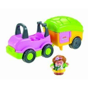 Fisher Price (フィッシャープライス) Little People Car and Camper
