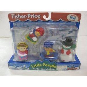 Fisher Price (フィッシャープライス) Little People Christmas Winter Wonderland