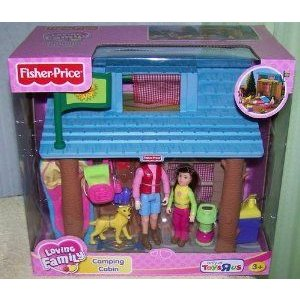 Fisher Price (フィッシャープライス) Loving Family Camping Cabin with Accessories