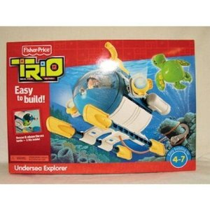 Fisher Price (フィッシャープライス) Trio Undersea Explorer Case Pack 2 Fisher Price (フィッシャー