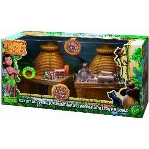 Jungle Book Deluxe Playset with Baloo