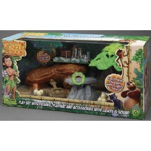 Jungle Book Deluxe Playset with Mowgli
