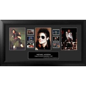 【商品名】Michael Jackson (Series 1) Framed Trio Film C...