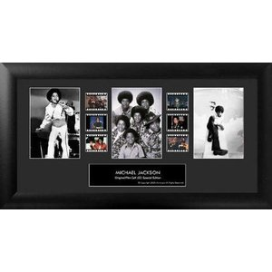 【商品名】Michael Jackson (Series 2) Framed Trio Film C...