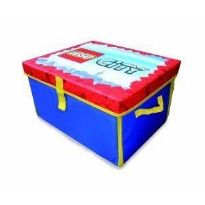 【商品名】Neat-Oh! LEGO CITY ZipBin Toy Box & Playm...