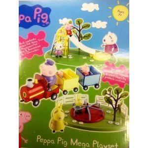 Peppa Pig Mega プレイセット Toy フィギュア おもちゃ 人形