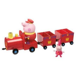 Peppa Pig Princess Peppas Royal Train Toy