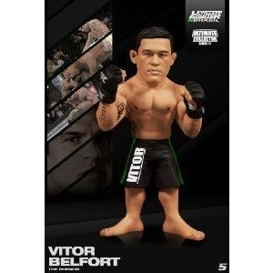 GEORGES ST PIERRE ROUND 5 UFC SERIES 11 REG EDITION ULTIMATE COLLECTORS FIGURE