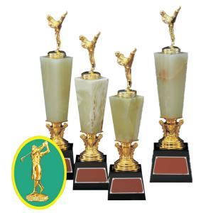 トロフィー VTX3608 B ゴルフ女|worldgolf