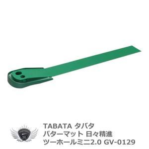 タバタ パターマット 日々精進 ツーホールミニ2.0 GV-0129|worldgolf