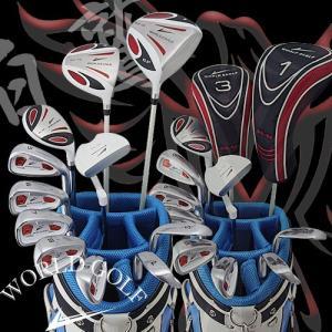 ワールドイーグル WE-5Z ホワイト + CBX005カードバッグ メンズゴルフクラブ14点フルセ...