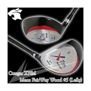 X7IM メンズ フェアウェイウッド 5番 左利き用 Cougar|worldgolf