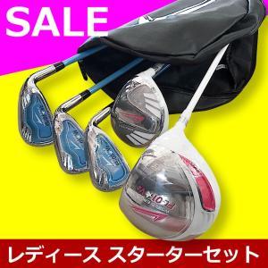 初心者専用♪ワールドイーグル レディース 7点 ゴルフクラブ...