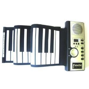 49-Key Flexible Soft Portable Electronic Keyboard Piano MIDI Digital Roll-up Gift  キーボード worldmusic