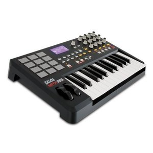 Akai Professional MPK25 25-Key USB MIDI キーボード パッドコントローラー with MPC Pads|worldmusic