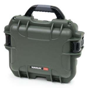 Nanuk 905 Case with Cubed Foam (Olive)|worldmusic