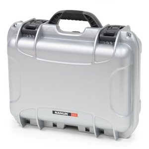 Nanuk 915 Case with Padded Divider (Silver)|worldmusic