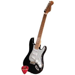 Axe Heaven FS-003 Fender (フェンダー) Start Black Vintage Distressed Miniature Guitar Replica|worldmusic