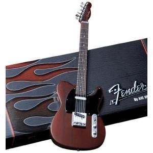 Axe Heaven Fender フェンダー テレキャスター ローズウッド ミニチュアギター レプリカ (模型) FT-004
