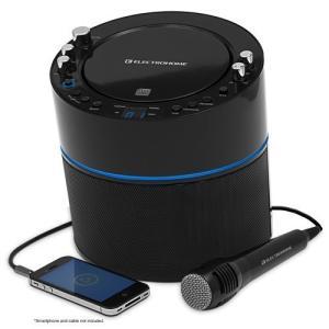 カラオケ上達 ! スマートフォン、タブレット用のAUX入力、&MP3プレーヤーElectrohome カラオケマシンス|worldmusic