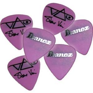 Ibanez (アイバニーズ) Steve Vai シグネチャー Heavy ギターピック Pink...