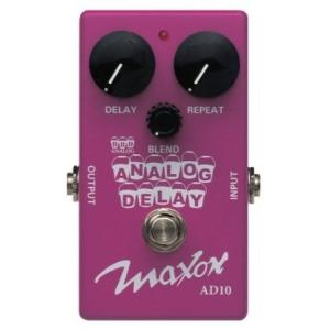 Maxon Compact Series AD10 Analog Delay ペダル
