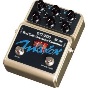 【商品名】Maxon RTD800 Real Tube Ovedrive/ディストーション ギターエ...