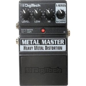 DigiTech デジテック XMM Metal Master Heavy Metal Distortion ディストーション ペダル|worldmusic