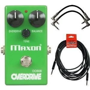 【商品名】Maxon OD808 Overdrive Pedal OD-808 w/ 3 Cable...