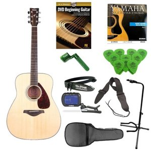 Yamaha ヤマハ FG700S Entry Level アコースティックギター with アコースティックギター ギグバッグ ギ