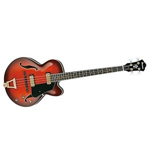 Ibanez アイバニーズ 4弦 セミアコベース AFB200 4-String Bass - Sunset Red|worldmusic