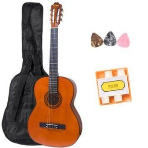 Kalos 36-インチ Acoustic Classic Guitar Package with Gig Bag, Pitch Pipe & Picks(3) - CGP-36 アコ|worldmusic|01